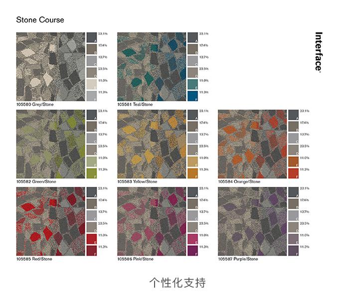 Interface 办公室地毯